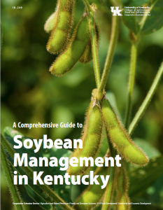 Soybean Management Guide Cover